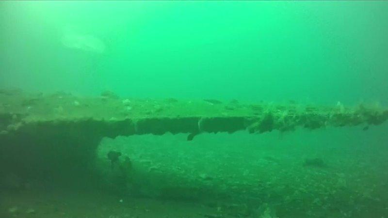 Самолет времен ВОВ обнаружили на дне Кольского залива