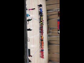 Награждение чемпионов традиционного городского турнира по футболу, посвященного памяти С.Ю. Прокопьева