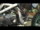работа двигателя YX150-2 после переборки