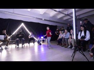 HIP-HOP kids | 1/4 | Семен VS Карагичева Дарья