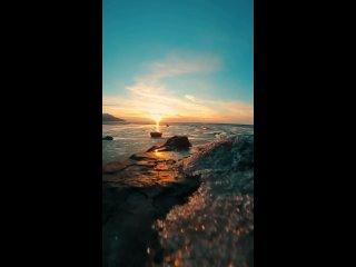 Волшебный закат на Аляске