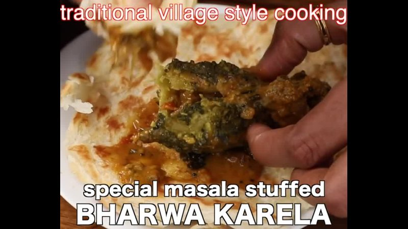 Bharwa karela recipe - stuffed karela recipe