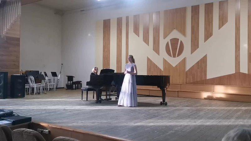 В. А. МоцартАрия Церлины из оперы Дон Жуан