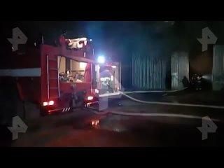 На складе в подмосковном Королёве произошёл крупный пожар.