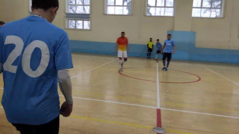 Мини футбол Высшая лига Боевое Братство СМиТ Ураган