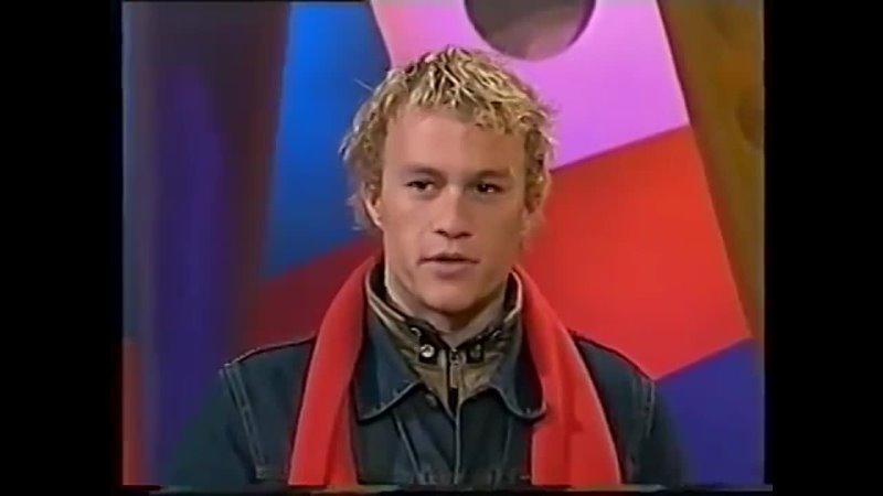 Hey Hey It's Saturday Heath Ledger Interview June 19th 1999