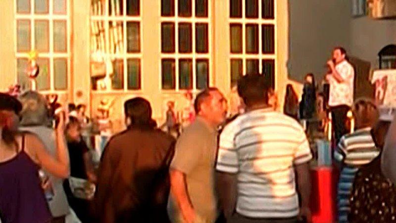 День посёлка .2012 г (фрагмент праздника.)