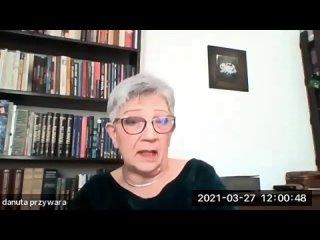"""Данута Пживара """"Роль неправительственных организаций в межкультурном диалоге"""""""