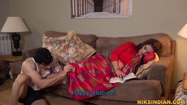 NIKSINDIAN Pregnant Desi Bhabhi Got Ass Fucked By Servant Ramu