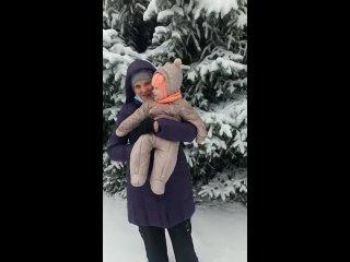 первый снег в Украине 2021г