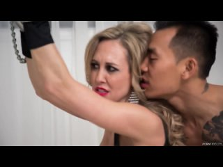 Brandi Love - Молодой парень насилуют взрослую женщину в цепях (Мамки Зрелую Тёщу Тётку Мачеху Milf mom mature sex incest инцест