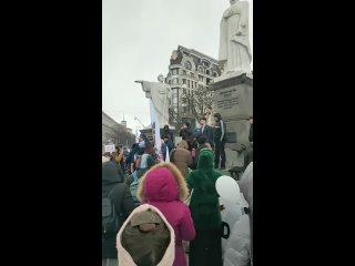 Киев. 20Марта. митинг против утилизации человечества. это видео было удалено_!