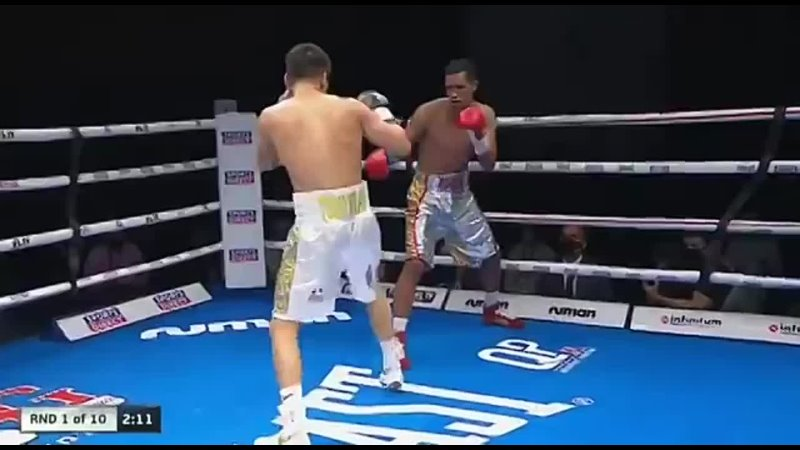 WOW ️ Take another look as Tursynbay Kulakhmet earns an incredible first round knockou