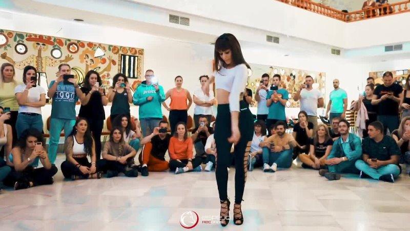 Karlos Rose - El Juego - _ workshop Marco Sara BACHATA 2019 _ NO solo salsa - Malaga