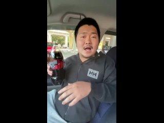 Прикол с Ментос над друзьями в машине