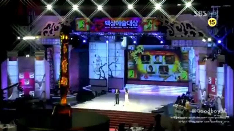 И Мино 💜 ВЗГЛЯД В ПРОШЛОЕ 2009 02 27 На церемонии 45th Baeksang Arts Awards 🏆 Лучший новый актер Цветочки после ягодок