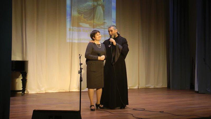 Диакон Сергий и матушка Наталья Учанейшвили Авторская песня Весна 4 марта 2021 г