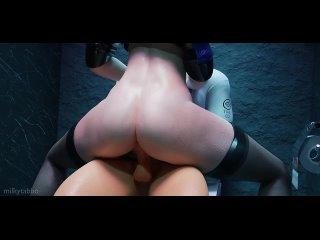 Evelynn - femdom; domination; riding; POV; oral sex; kunilingus; big butt; stockings; 3D sex porno hentai; [League of Legends]