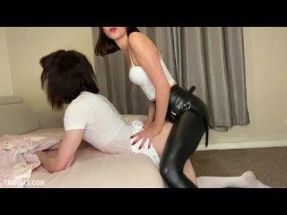 Isabella Hush - Bedwetting Hard Regression Punishment [homemade, feminisation, sissy, strapon anal pegging ass, ruined orgasm]