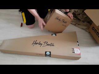 [Гитара Дяди Бена] Вы ЭТО должны увидеть : Harley Benton ST 20 и  HB 10G
