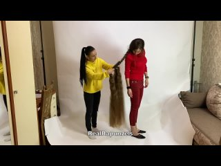 RealRapunzels _ Unbraiding and Brushing Floor Length Hair (preview). .