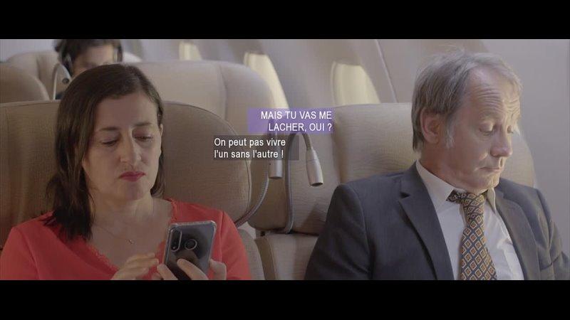 Тихое падение Chutes en chut Dont Leave Me in the Shhh (Robin Barriere, Benoit Nieto) [2019, Франция,комедия]