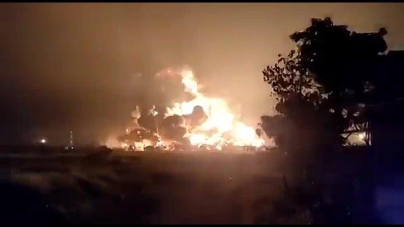 Вибуху й пожежі на нафтопереробному заводі в Індонезії