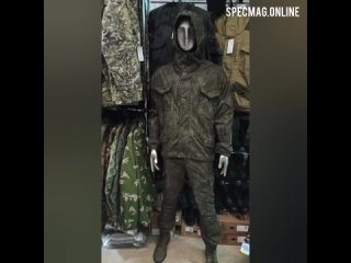 Обзор костюма горка-8 премиум, на флисе, пин-код хаки.mp4