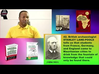 Episode 23. 2019-08-15. BLACK (MOOR) SPAIN WAS A CULTURAL CENTER OF EUROPE. ARE BLACK AFRICAN PEOPLE CURSED