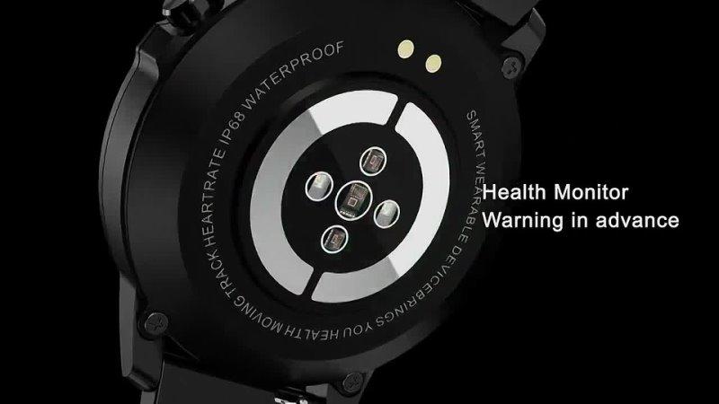 Смарт часы battiphee microwear l8, спортивный монитор, модный дизайн, сенсорный экран, экг ppg ip68, фитнес, социальные сети,