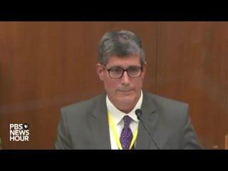 Суд по делу Джорджа Флойда, выступление судмедэксперта 1