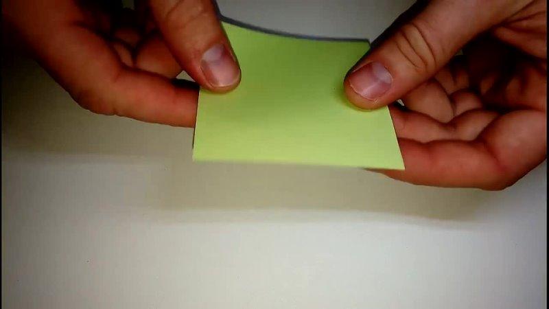 [MasikBon Origami Crafts] Многогранник из бумаги. Додекаэдр оригами