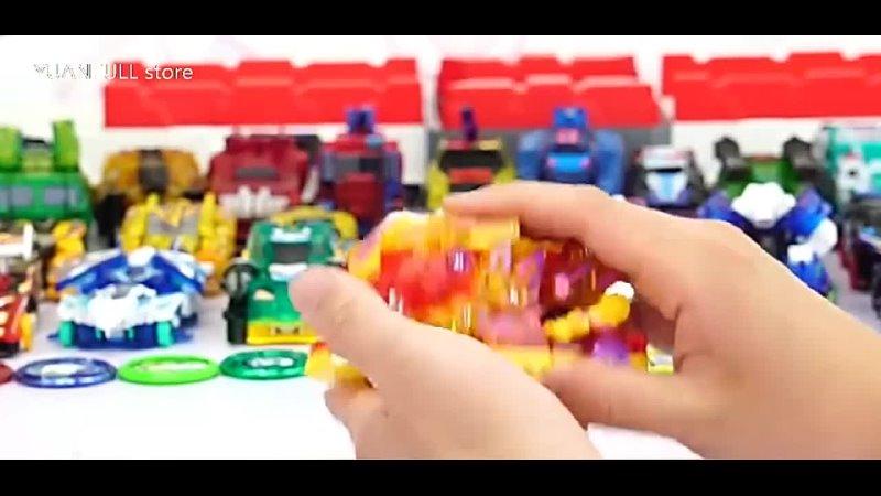 Крики дикий взрыв переворачивает трансформации наклейки робот автомобиль аниме фигурки охотник захвата чип вафли дети мальчики