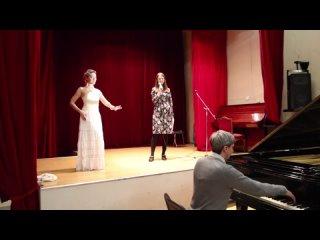 Танцевальная импровизация Софи под стихи Оксаны Соболевой и под аккомпанимент Александра Тимофеева