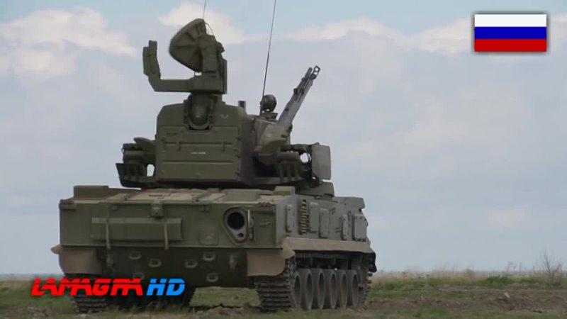 2K22M Tunguska-M Gun-Missile Air Defense System