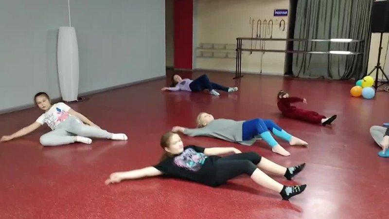 Основы контемпа для детей в Школе танцев AS Dance. Педагог - Софья Гордеева.