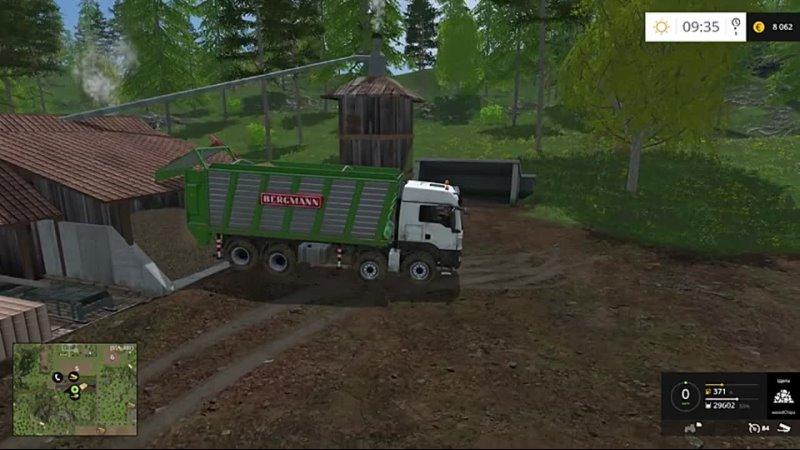 Уборочный комбайн GRIMME TECTRON 415 Farming Simulator 15 18