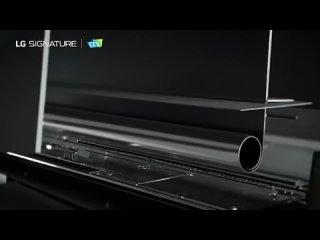 Компания LG вывела на российский рынок телевизор Signature OLED TV R, со сворачивающимся экраном по цене квартиры. Стоимость 65-