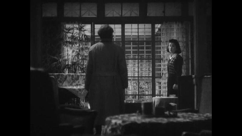 УТРО СЕМЬИ ОСОНЭ 1946 драма Кейсуке Киносита 720p