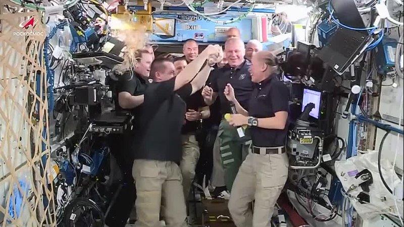 Передача командования на МКС