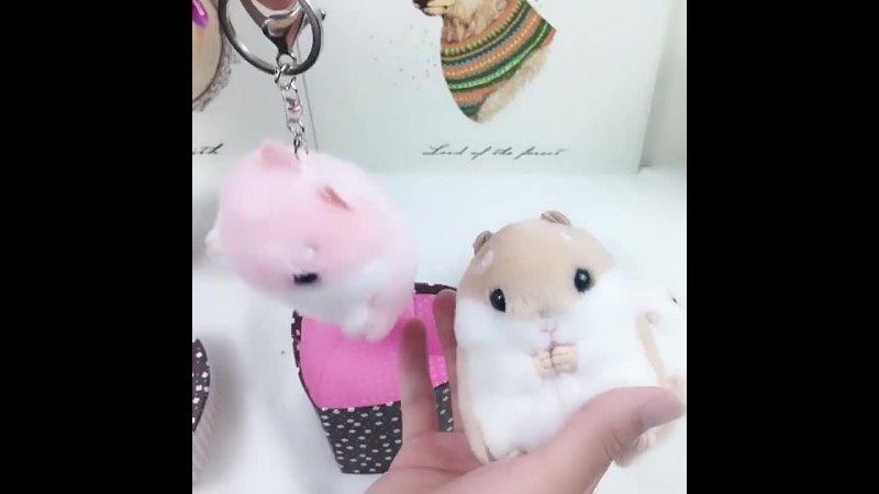 Милый хомяк плюшевые куклы игрушки брелок сумка кулон материал плюшевые игрушки милый хомяк аниме плюшевые рождественские