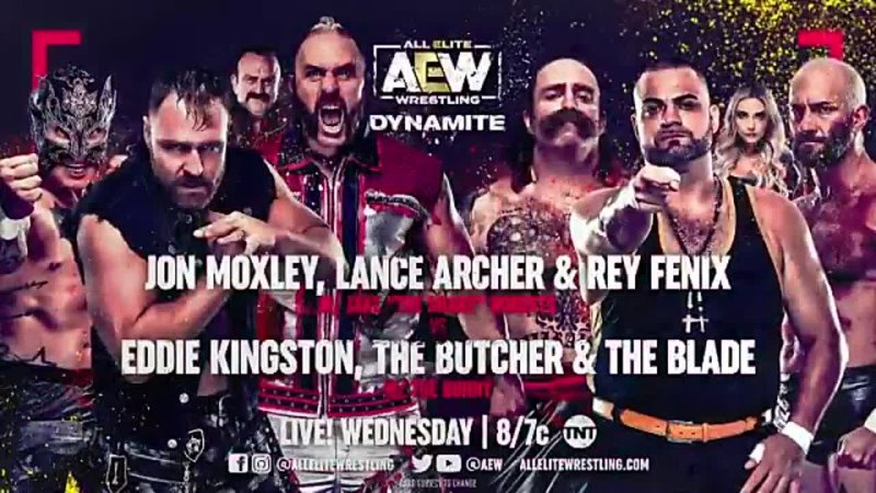 At the request of @MadKing1981 AEW GM @TonyKhan booked a huge match for the next AEWDynamite LIVE on Wednesday night Eddie Kin