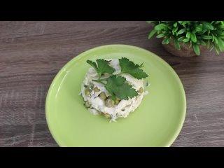 Салат из Пекинской капусты.