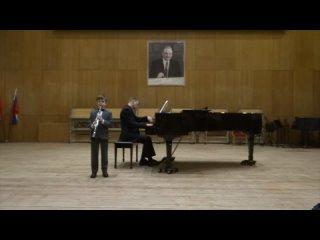 Концерт учащихся отдела духовых и ударных инструментов Охтинского центра эстетического воспитания «Весенние танцы»