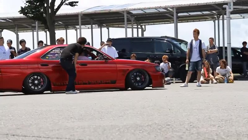 Seven Star Flush Session Platinum 2012 at Fuji Speedway Roll Out