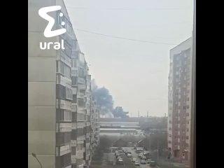 Пожар на Уралмашзавод