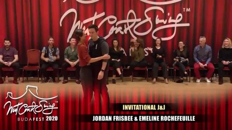 Jordan Frisbee и Emeline Rochefeuille Чемпионы Jack и Jill Budafest 2020 макарена
