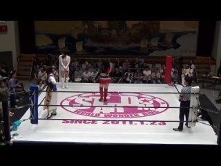 Alex Lee & Hiroyo Matsumoto vs. Candy Crush (Chelsea & Kairi Hojo)
