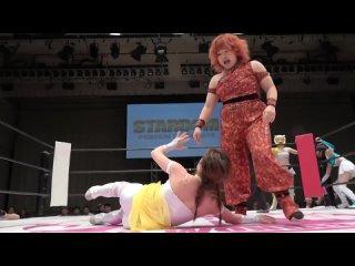 Alex Lee, Azumi &  Kaori Yoneyama vs. Arisu Nanase, Natsumi Maki  & Starlight Kid