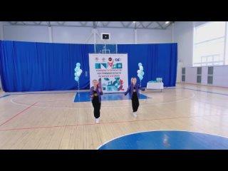 Белова Алиса, Клинова Анастасия. 3 место. Хип-хоп дуэты 7-13 лет.